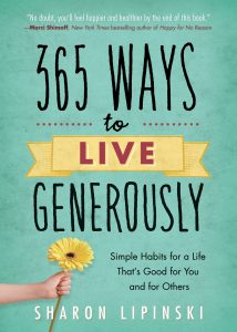 Book Cover of 365 Ways to Live Generously